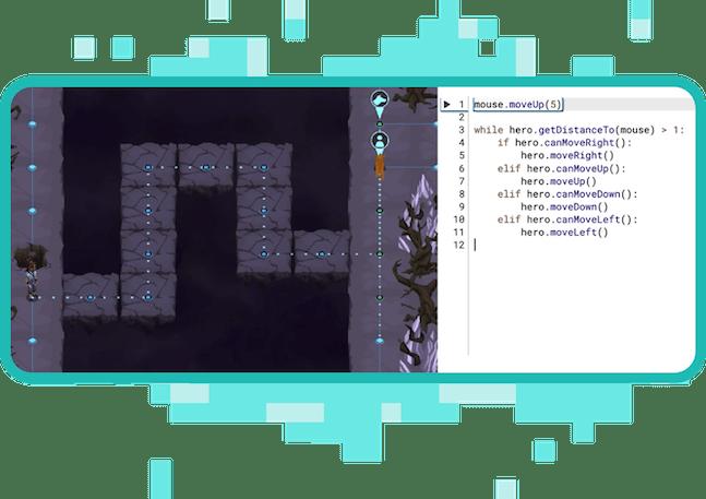 Game-based learning screenshot